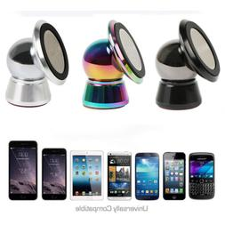 Car Mount Universal Magnetic Metal Car Holder for Cell Phone