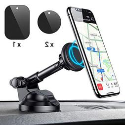 Car Phone Mount, Magnetic Phone Car Mount with 6 Strong Magn