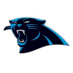 Carolina Panthers Official NFL 12 inch 12 Logo Car Magnet by