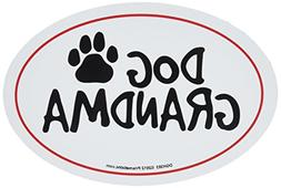 Prismatix Decal Cat and Dog Magnets, Dog Grandma