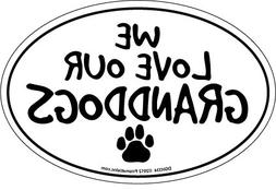 Prismatix Decal Cat and Dog Magnets, We Love Our Granddogs