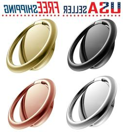 Cell Phone Ring Holder Universal 360° Finger Stand Car Magn