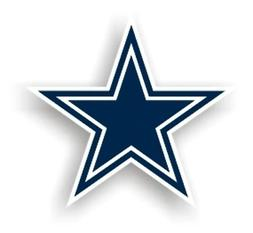Fremont Die CSY-2324599502 Dallas Cowboys NFL 12 Car Magnet