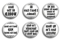 Cute Locker Magnets For Teens - Sarcastic Sayings - Fun Scho