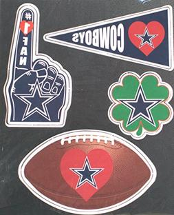Dallas Cowboys 4 Pack Team Magnets