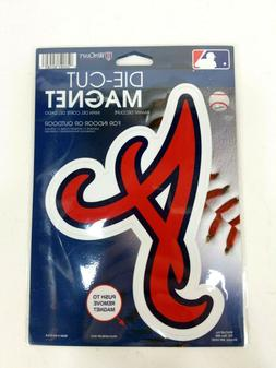 WinCraft Die-Cut Car Magnet - Atlanta Braves Baseball MLB