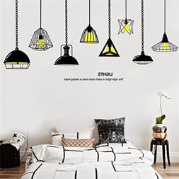 8df2447a931d Rumas DIY Chandelier Wall Stickers for K...