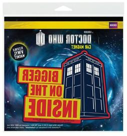 1 X Doctor Who Bigger Inside Flex Car Magnet by Animewild