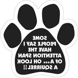 "6"" Dog/Animal Paw Print Magnet - Works on Cars, Trucks, Refr"