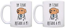 Dog Lover Gifts Trust Me I'm a Dogtor Gifts for Veterinarian