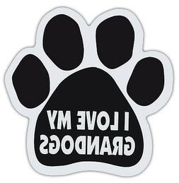 Dog Paw Shaped Magnets: I LOVE MY GRANDOGS | Dogs, Gifts, Ca