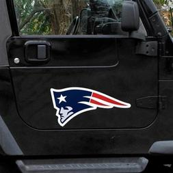 "New England Patriots 12"" Logo Car Magnets - Set of 2"