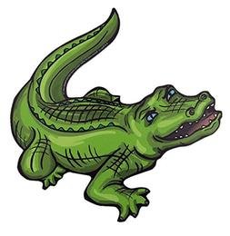 Mad Mags Green Gator Alligator Magnet Decal for Car, Refrige