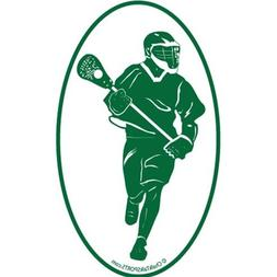ChalkTalkSPORTS Guys Lacrosse Car Magnet | Guys Lax Player S