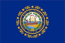 "18"" New Hampshire flag. MAGNET Vinyl Car Fridge Sticks to an"