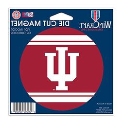 Indiana Hoosiers Official NCAA 4.5 inch x 6 inch Car Magnet