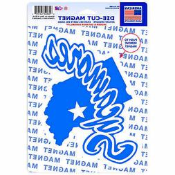 """Indiana State Sycamores NCAA 6"""" x 9"""" Car Refrigerator Magnet"""