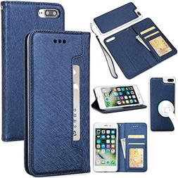 iPhone 7 Case,iPhone 8 Case,Gostyle 2 in 1 Detachable Flip W