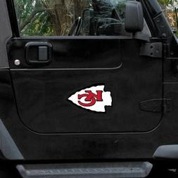 kansas city chiefs vinyl magnet
