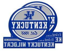 Kentucky Wildcats Jumbo Tailgate Magnet Set of 2