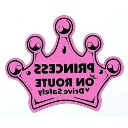 Kids Central Princess On Route Car Magnet│Child on baord s