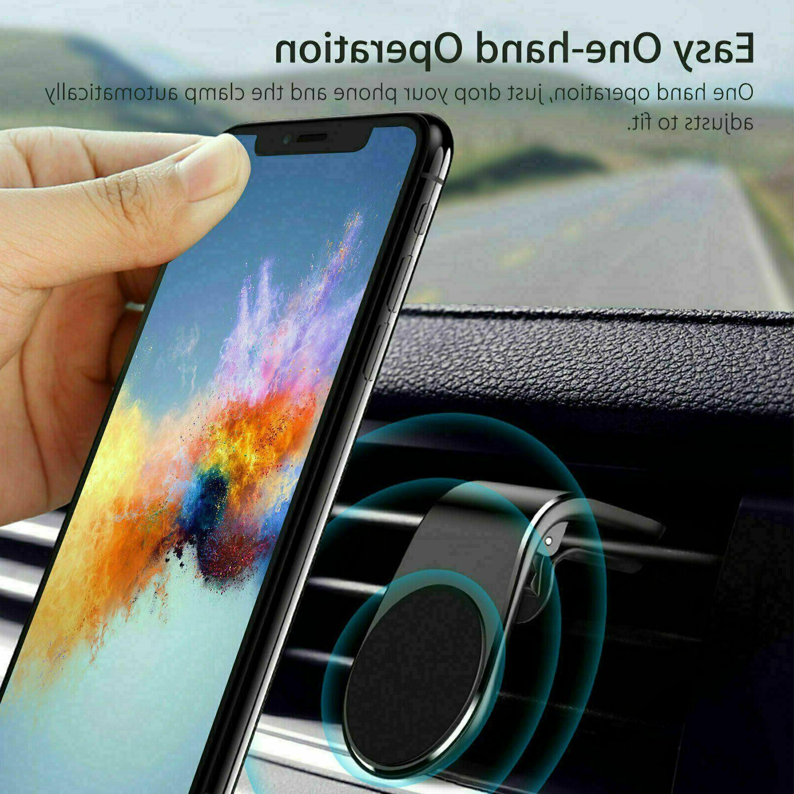 2-Pack Car Magnetic Air Vent Mount Universal Phone