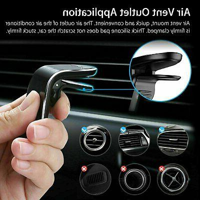 2-Pack Magnet Magnetic Air Vent Mount Holder Universal Mobile Phone