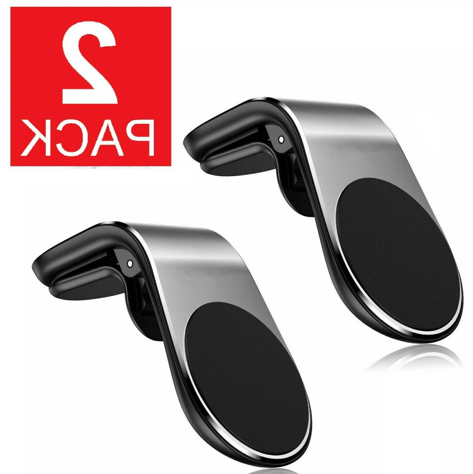 2-Pack Magnet Air Mount Universal Cell Phone