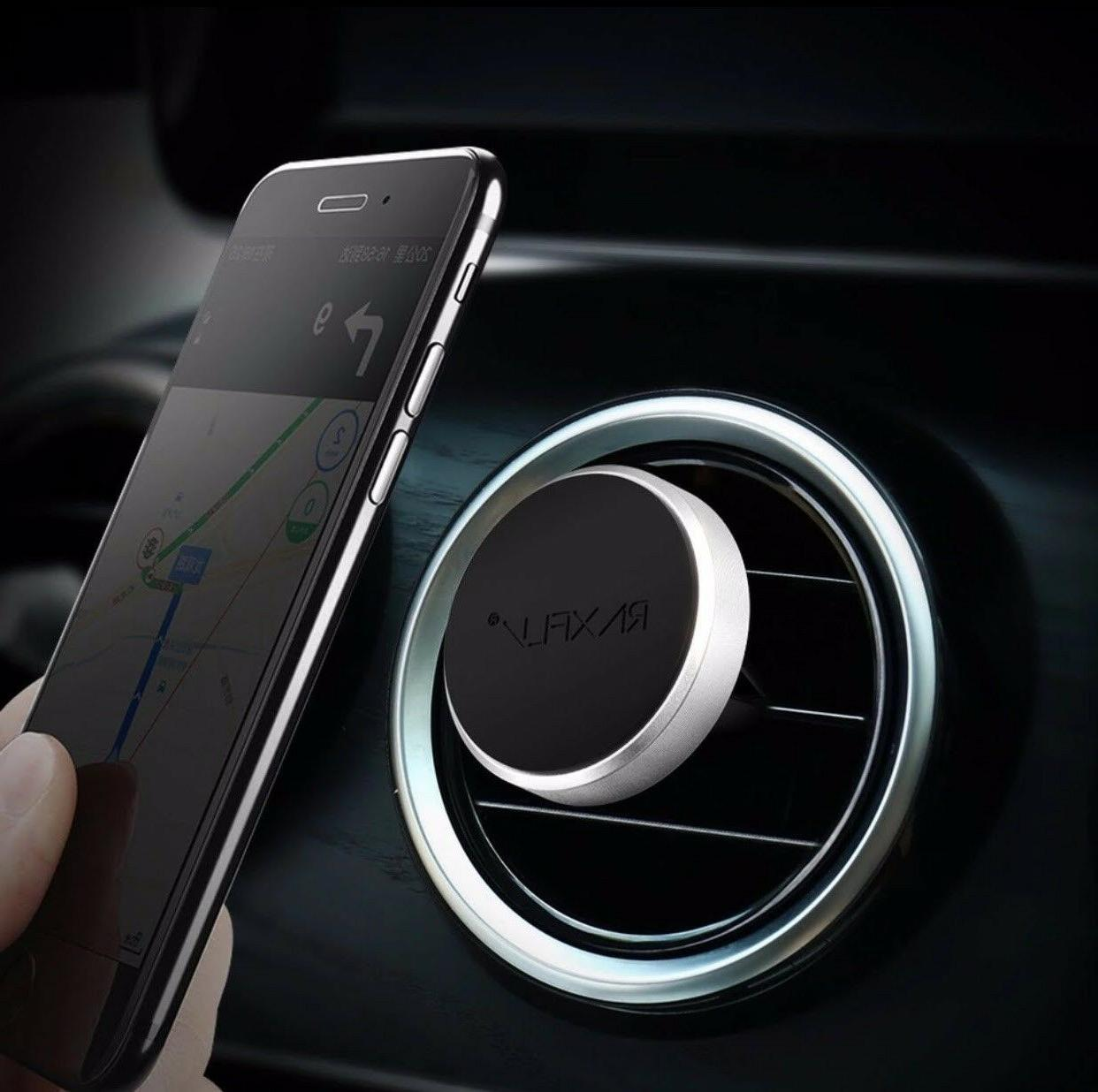 2Pk Magnetic Car Mount Air Vent Phone Holder iPhone 7 Plus 6
