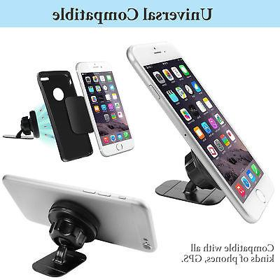 360° Car Holder Stand Stick On Dashboard For Cell iPhone LG