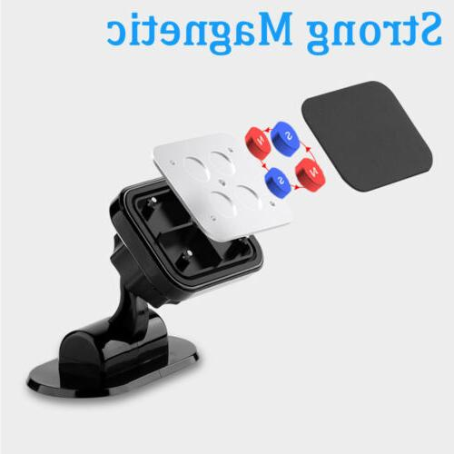 360° Car Phone Magnetic Stand For Cell GPS