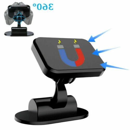 360 car phone holder magnetic mount stand