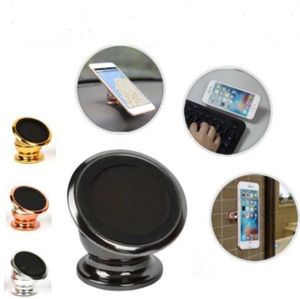 360 Degree Magnetic Car Dash Mount Ball Dock Holder For Cell