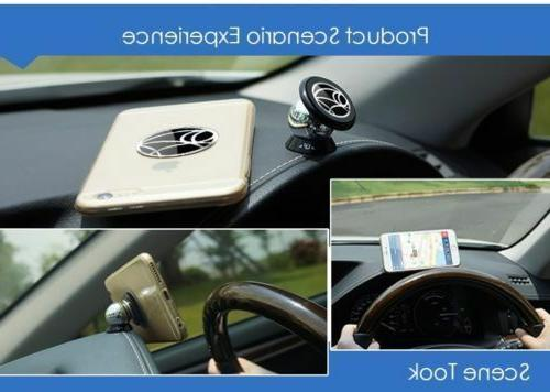 360 Degree Dashboard Holder Magnet Rack Steelie