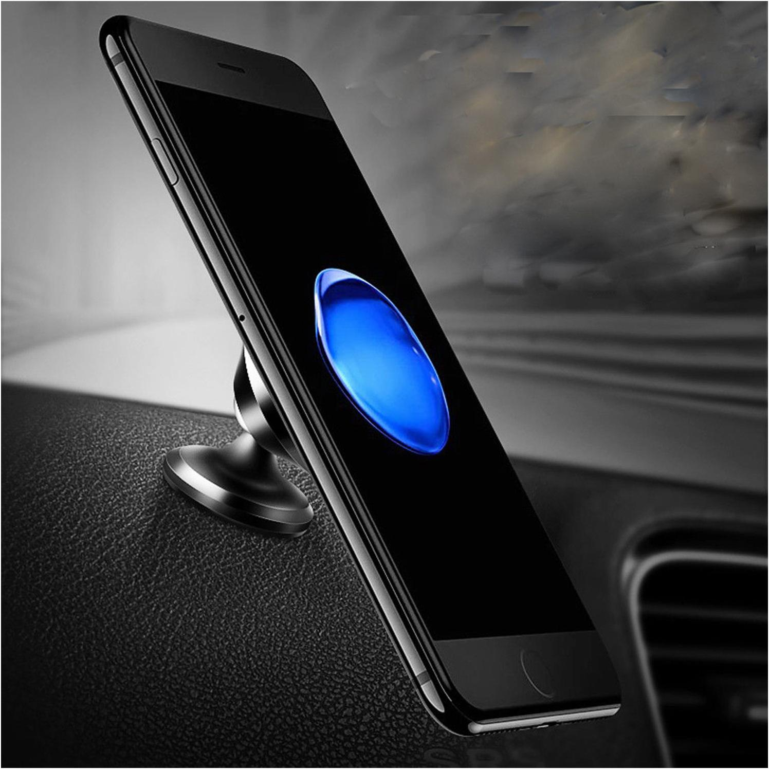 360 Magnetic Car Dash Dock For Phone
