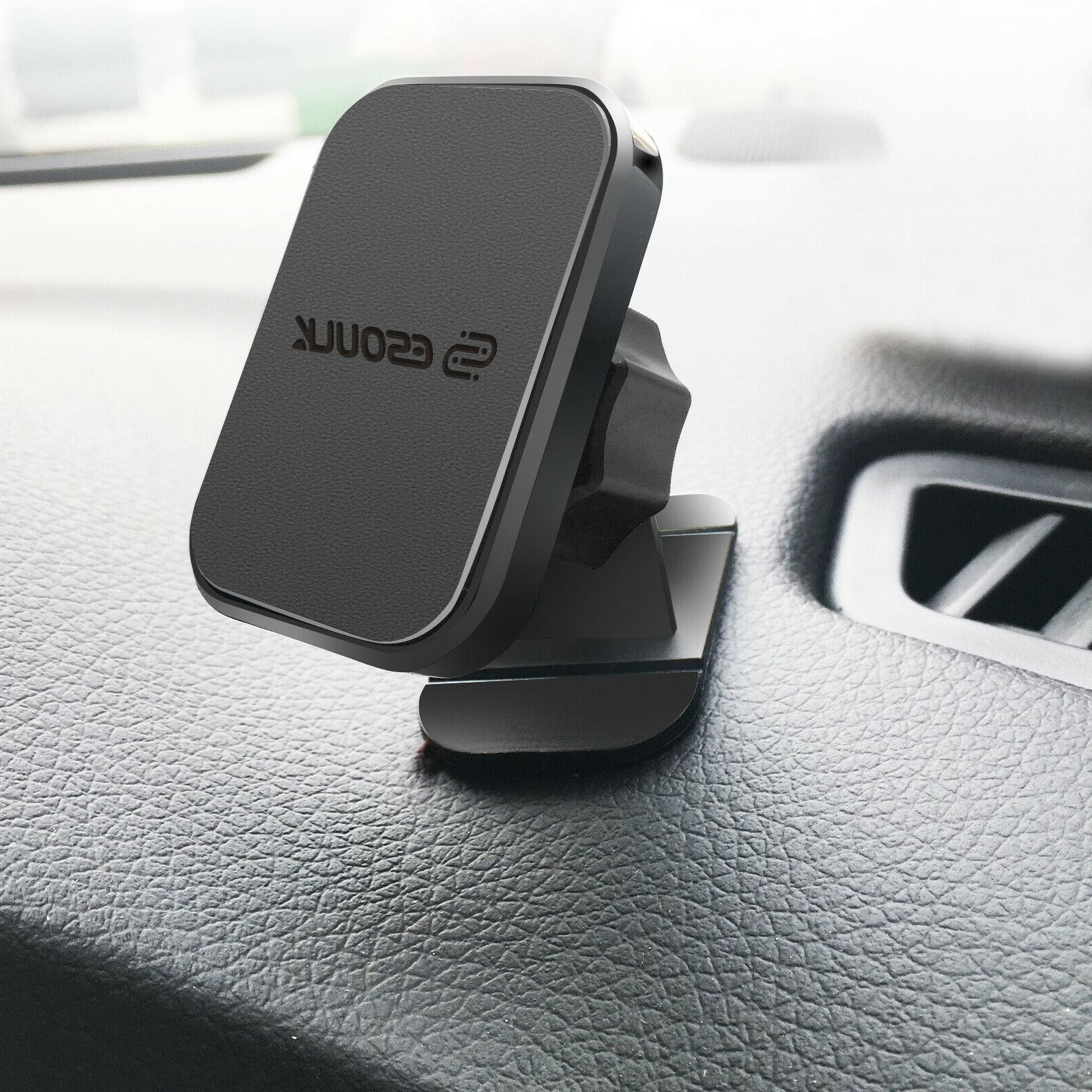 Esoulk 360° Magnetic Car Mount Holder On For