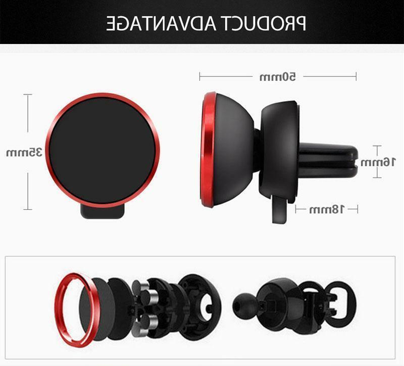 360 Rotate Magnetic Mount Stand For Phone GPS