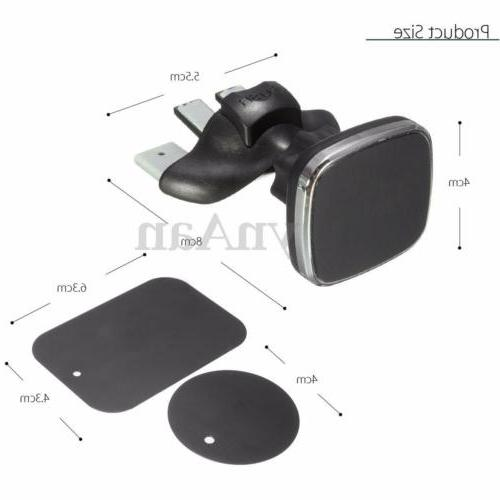 360º Slot Air Vent Holder Stand Cradle Cell Phone