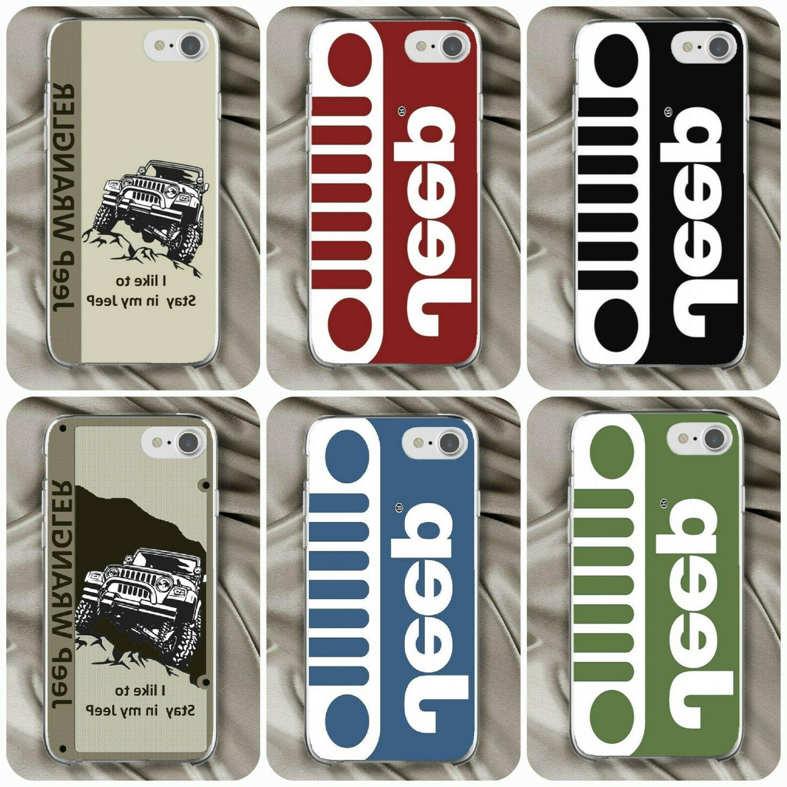 4x4 jeep off road car logo case