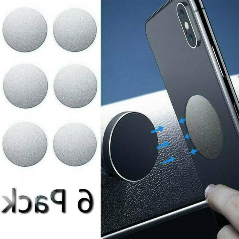 6pcs metal plate disc for cell phone
