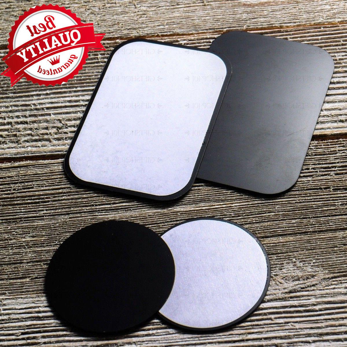 8 PACK Metal Plates Adhesive Sticker Replace For Magnetic Ca