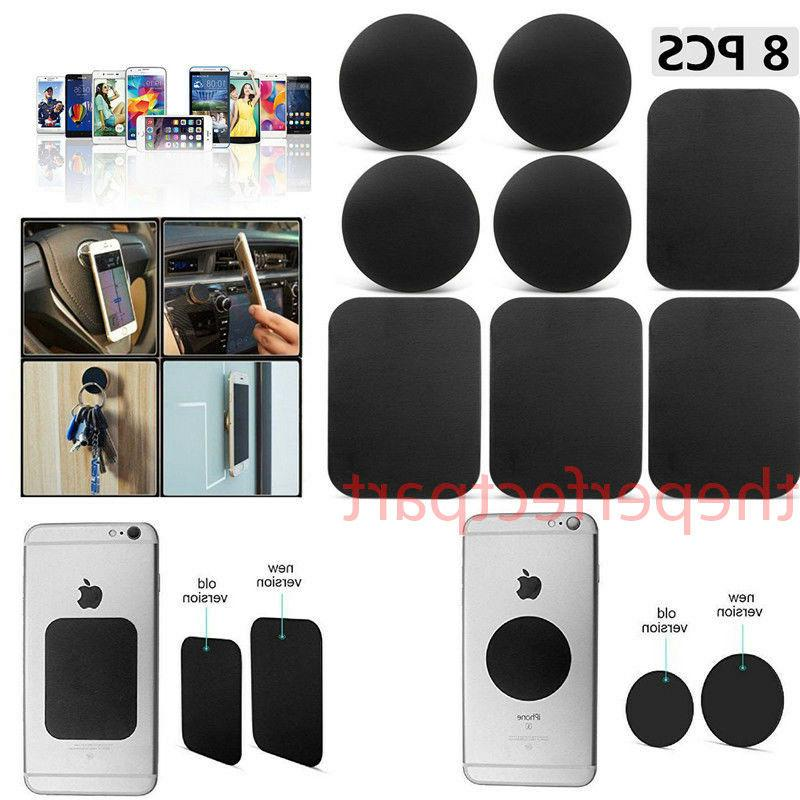 8 pack metal plates sticker replace