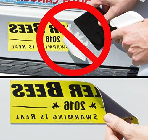 Cut-to-Size Sticker Magnetizer 4 Decal Into a Magnet. Magnetic Strip & Allows for Swaps. Flexible Guaranteed