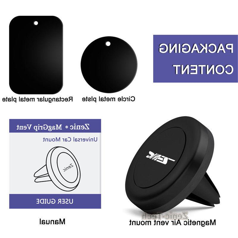 For Samsung 8/S8 /iPhone X Phone Car Air Vent Magnetic