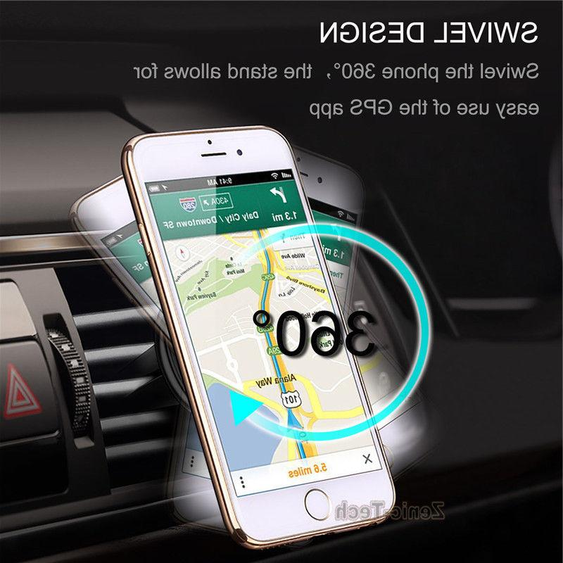 /iPhone X /8 Cell Phone Air Vent Magnetic Holder