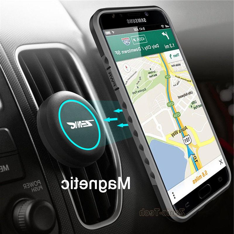 For Samsung Note 8/S8 /iPhone X /8 Cell Phone Car Mount Air