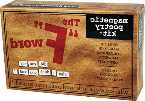 The F Word: Magnetic Poetry Kit