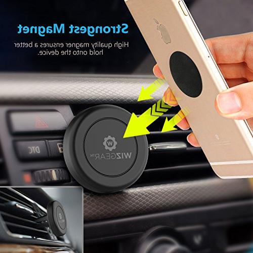 WizGear Magnetic Phone Mount Holder with Fast Technology Mini Tablets,