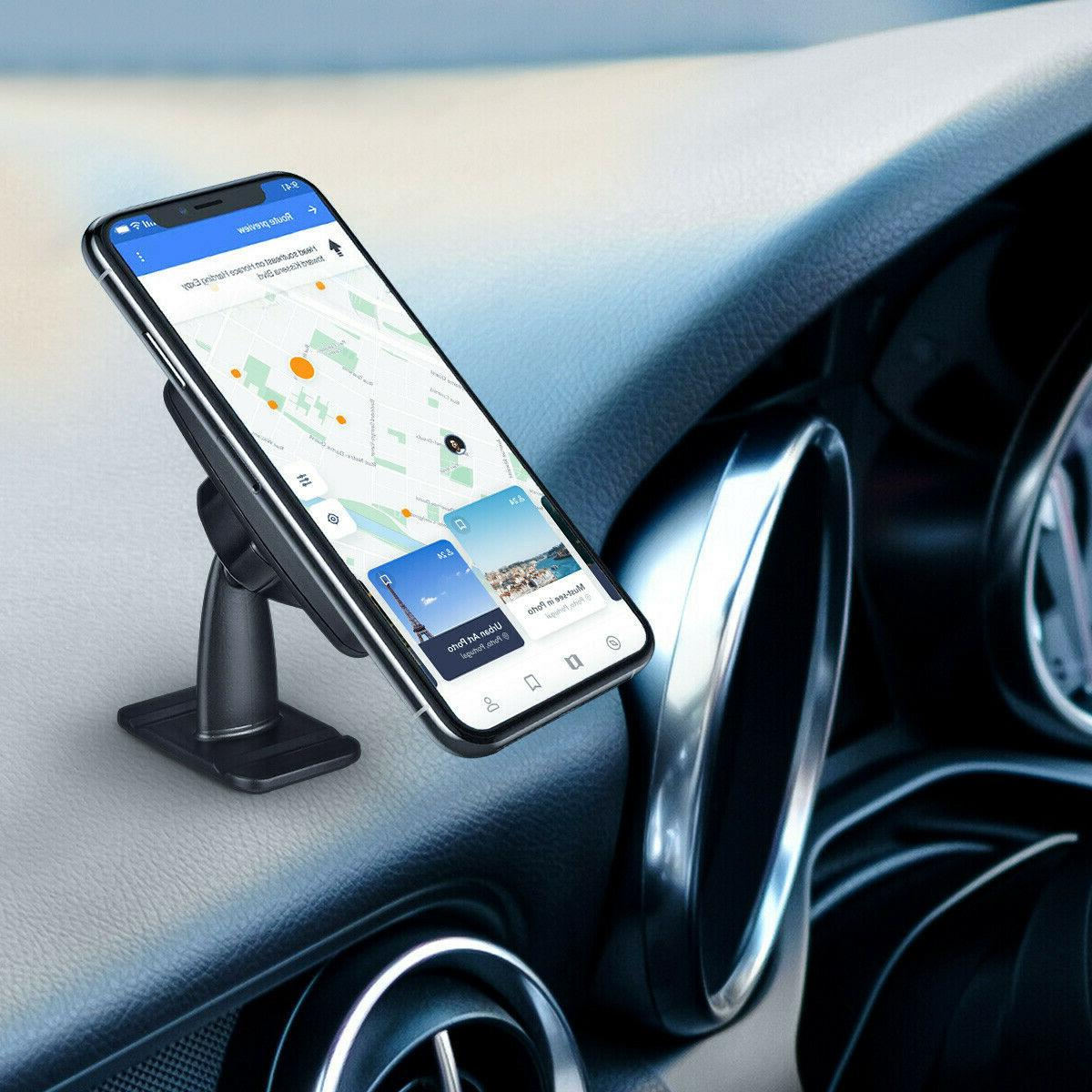 360° Magnetic Mount Cell Phone Dashboard Universal For