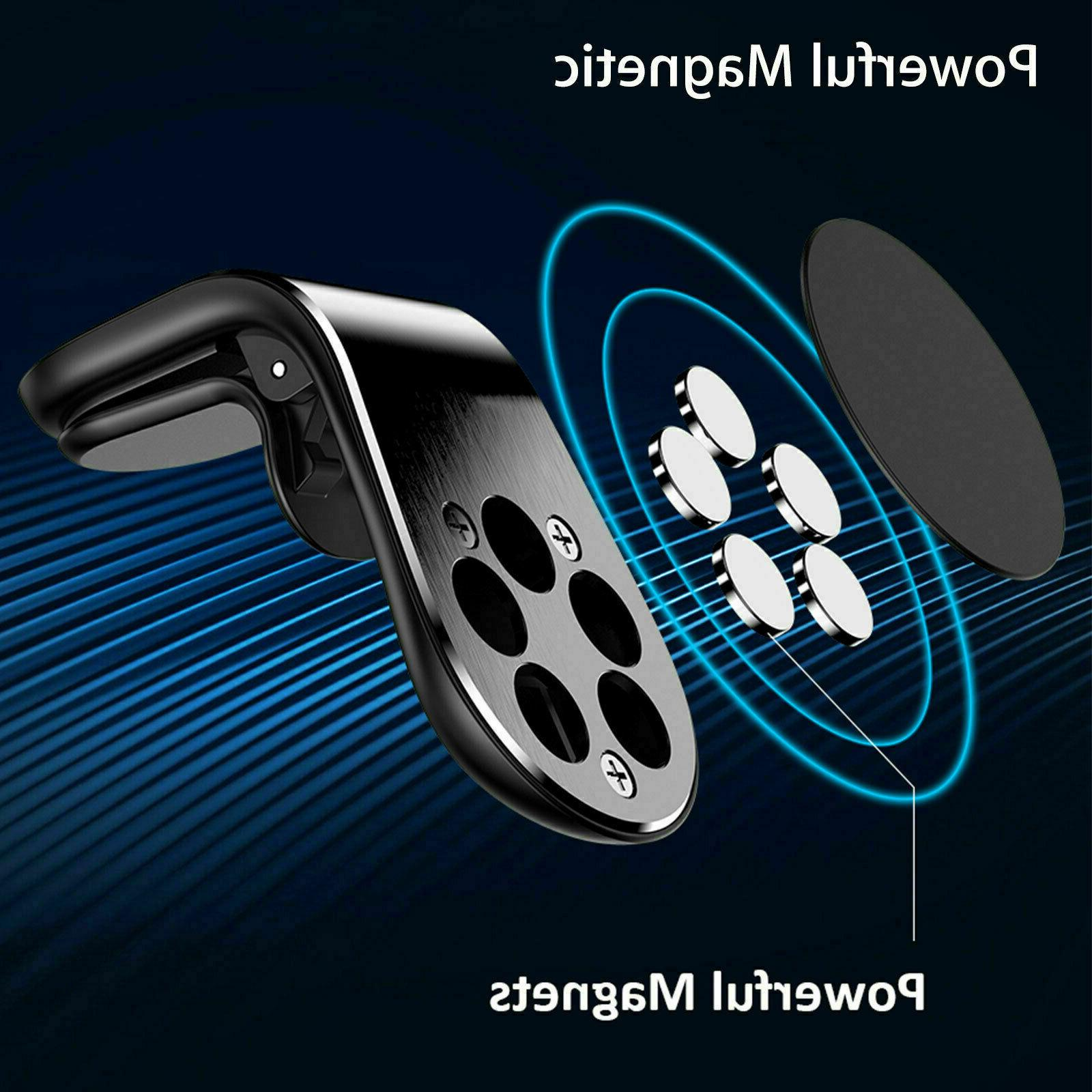 2-Pack Magnetic Air Vent Universal For Cell Phone